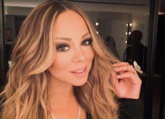 Mariah Carey si fa spazio Il concerto è stato punteggiato da video che mostravano i primi soccorritori in linea di dovere in mezzo alla crisi crescente.