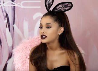 Ariana Grande presa di mira Si è capito che la cantante ventiseienne colpita con uno swat.